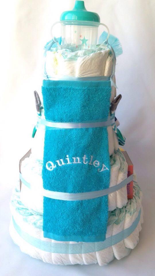 Taart Quintley achter