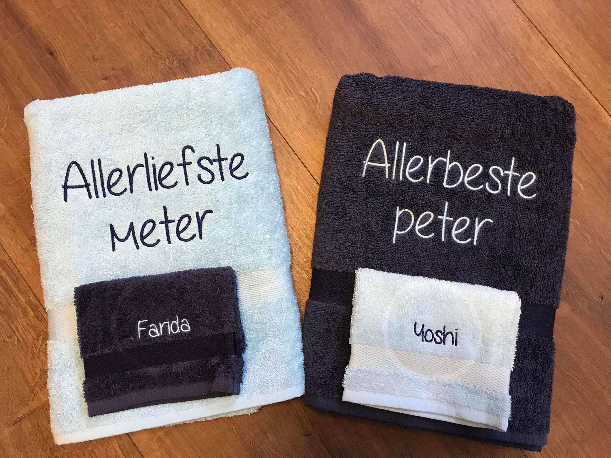 Badgoed voor peter & meter