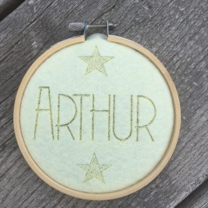 Balt met vilt voor Arthur